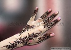 Pretty mehndi designs 16